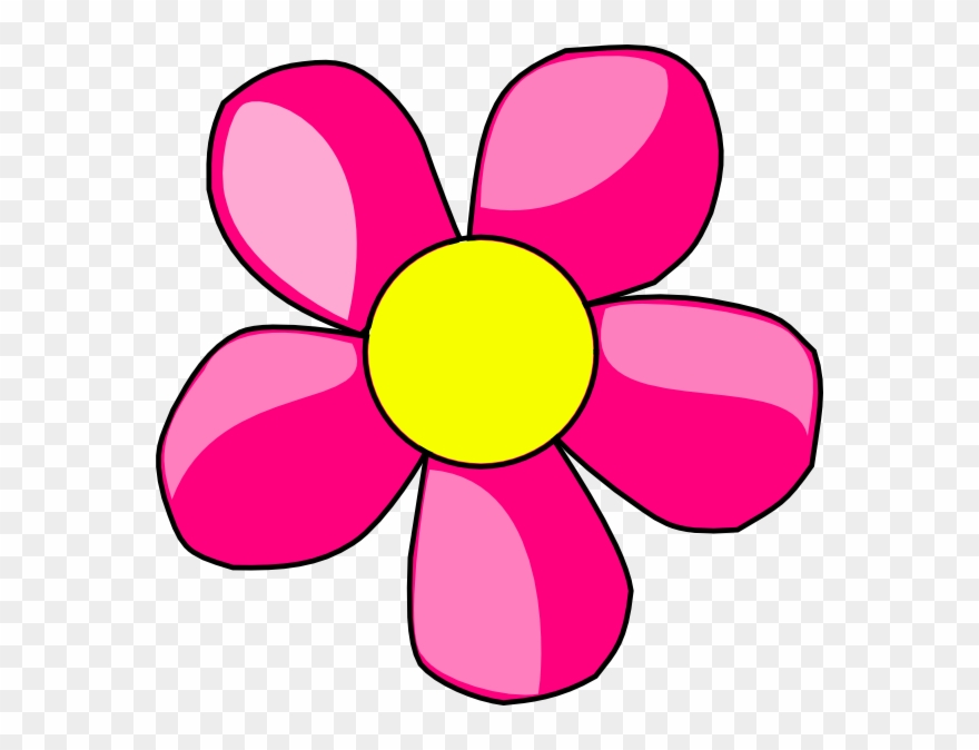 Gambar Kartun Beridiri Memegang Bunga