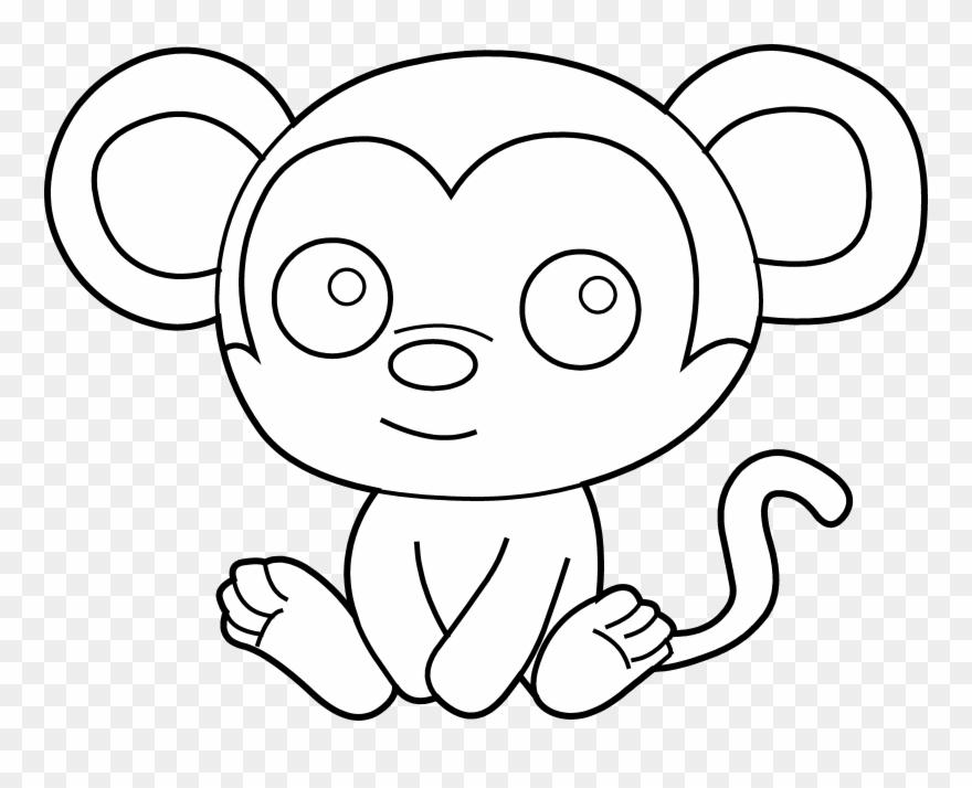 Baby Monkey Clip Art Clipart Panda Free Images