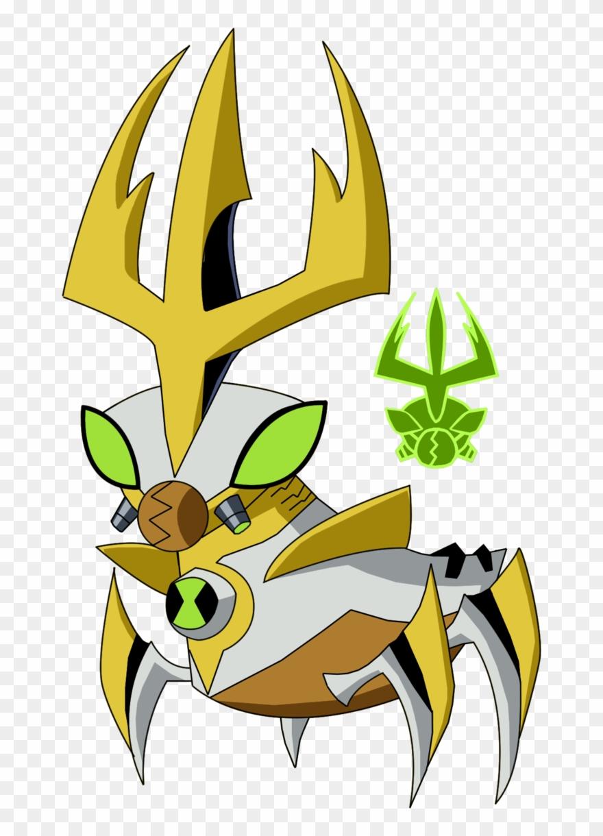 Ben 10 Alien Fusion Remade The Giant Bug Wattpad Clipart (#2580202