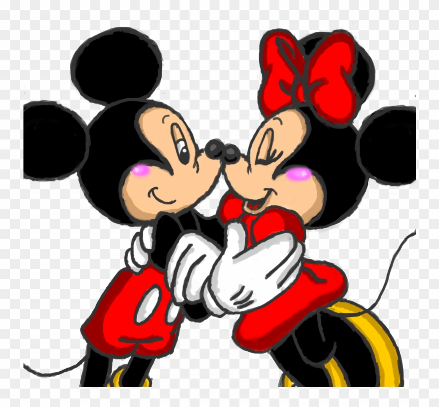 Gangster Mickey And Minnie Mouse Drawings Clipart (#2580466
