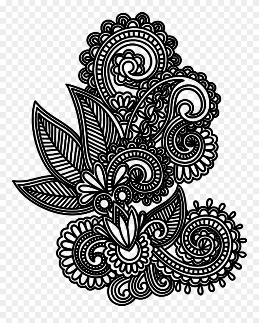 Tattoo Design Drawing Mehndi Png File Hd Clipart Transparent Png