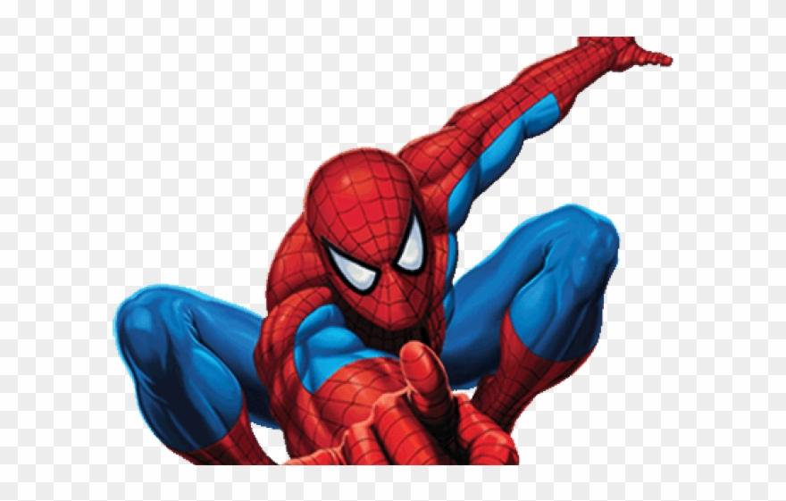 Superhero spiderman. Iron clipart superheroes png