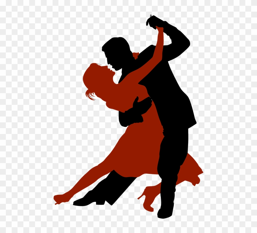 Ballroom Dancing Silhouette Clipart Ballroom Dance Dancing Man And Woman Png Download 260215 Pinclipart