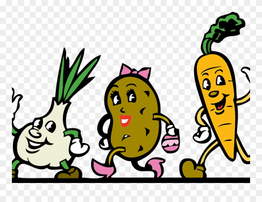 Healthy Food Clipart Wellness Cute Vegetables Clipart Png Transparent Png 261463 Pinclipart