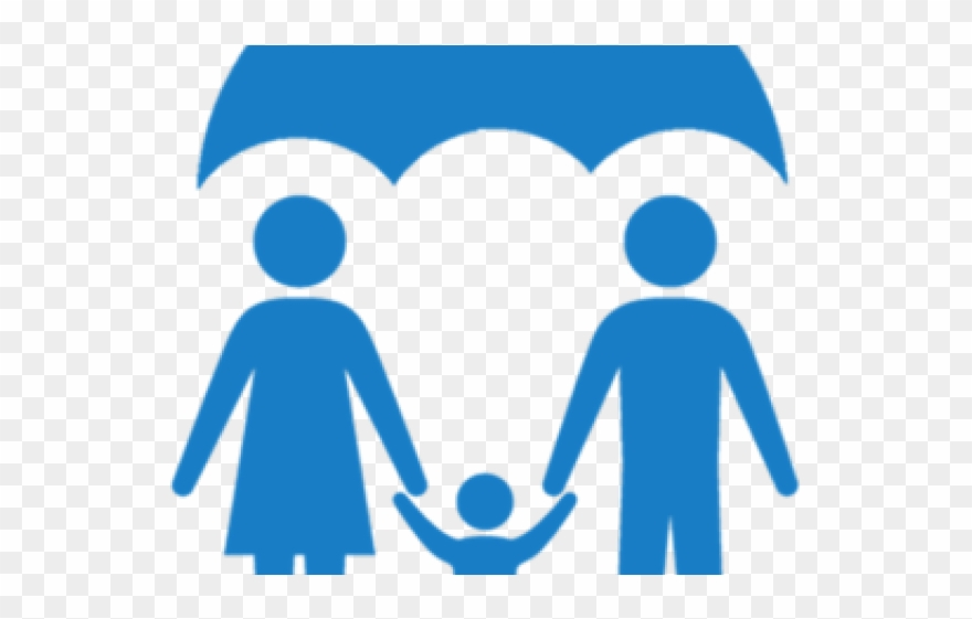 Life Insurance Clipart Sale Agent - Family Health Insurance