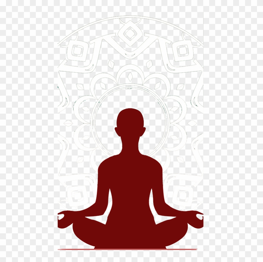 Gymnastics Clipart Yoga Boy Mindfulness Meditation Silhouette Png Download 267238 Pinclipart