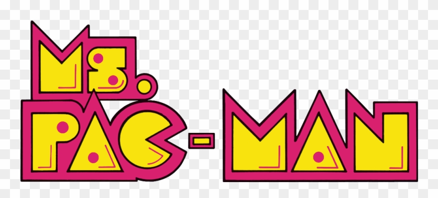 Vector Arcade Clipart Neon Sign - Ms  Pac-man [pc Game