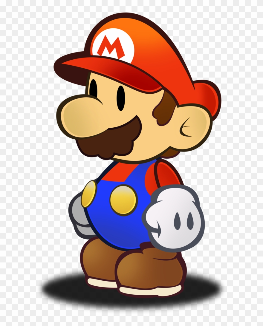 Paper Mario Hd Sprite By Fawf Clipart (#2603113) - PinClipart