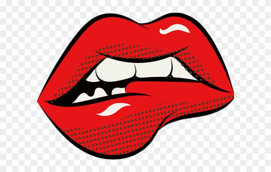 Lips Clipart Pop Art Png Download 2603182 Pinclipart