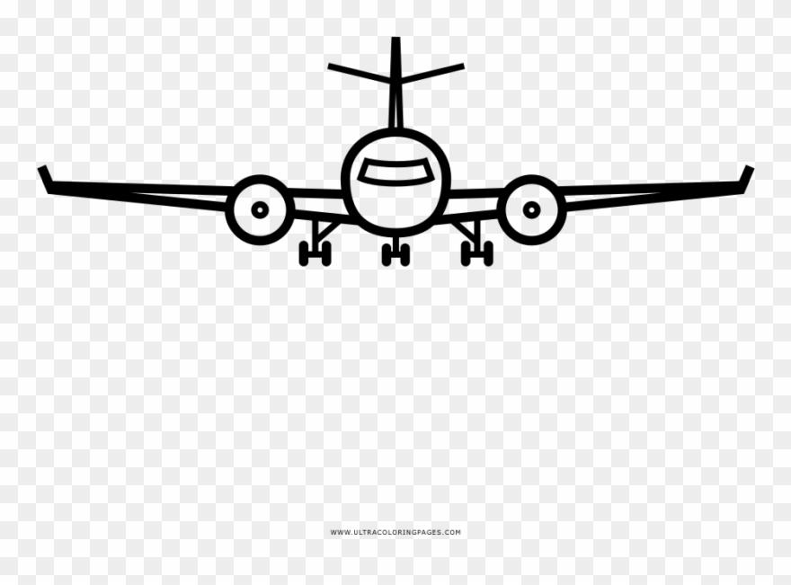 Flugzeug Ausmalbilder Clipart 2618065 Pinclipart