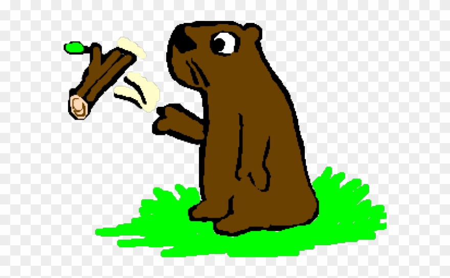 Groundhog Clipart Woodchuck - Png Download