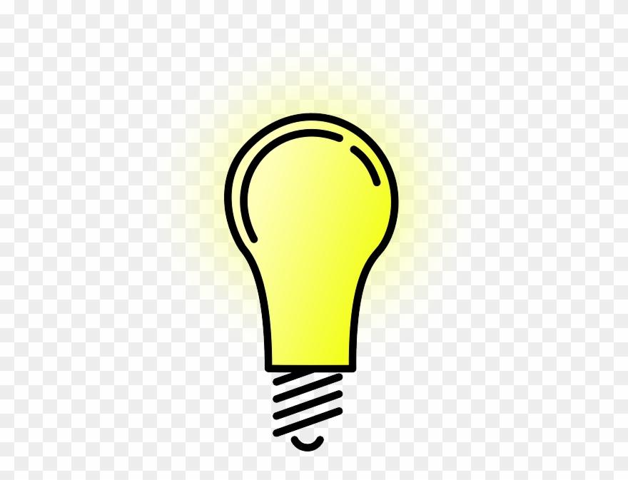 Cartoon Drawing Of A Lit Lightbulb Clipart 2629145 Pinclipart