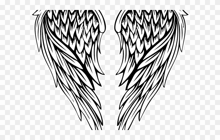 Download Fallen Angel Clipart Colored Angel Wing Png Download 2651528 Pinclipart