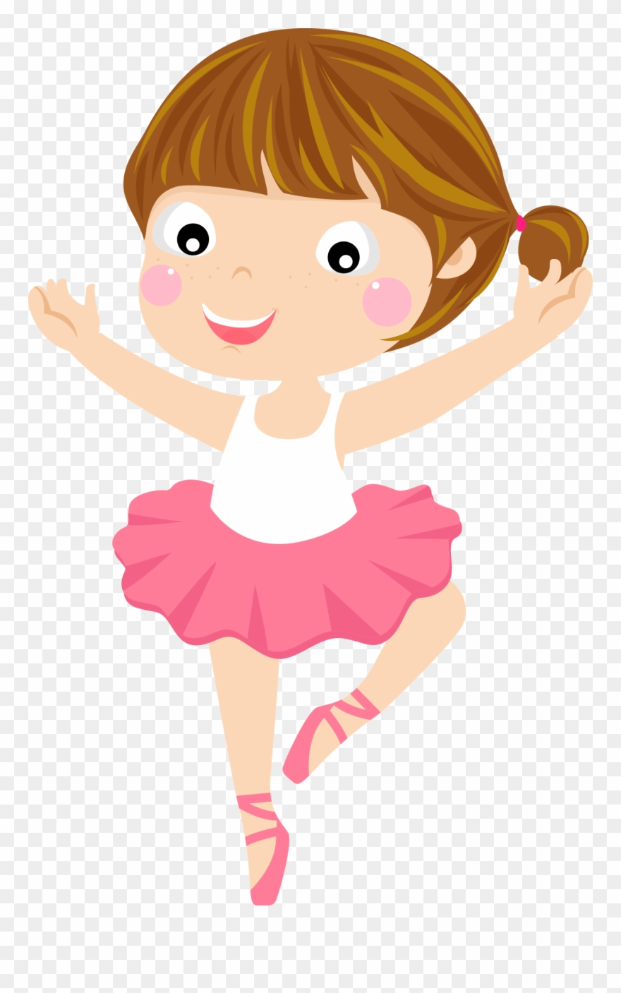 Ballet Cartoon Dancer Clipart 2655145 Pinclipart