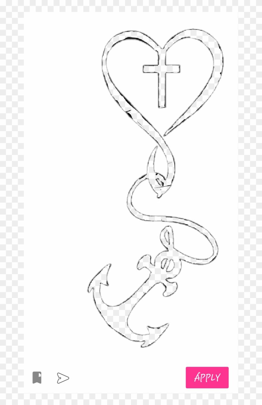 7390a84b925e1 Heart Anchor Cross Clipart (#2695964) - PinClipart