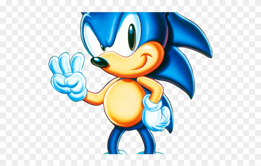 Sonic The Hedgehog Clipart Classic Sonic Png Download 2697912 Pinclipart