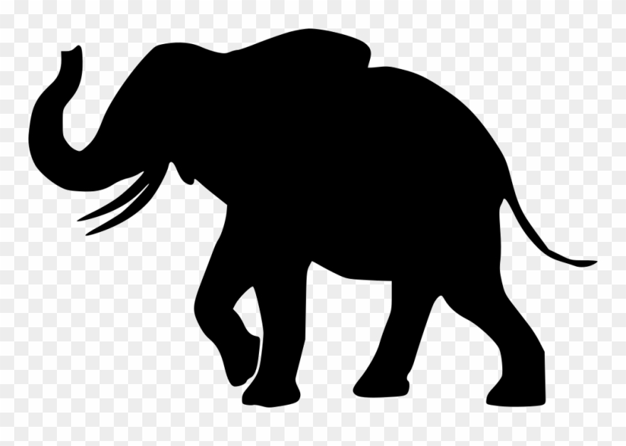 Elephant Png Icon Free Clipart 2697986 Pinclipart African elephant mother with baby black white. elephant png icon free clipart
