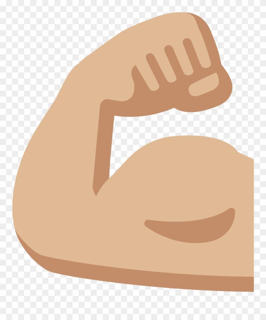 Body Builders Muscle Men Clip Art Muscular Men Muscle Arm Emoji Png Download 271483 Pinclipart