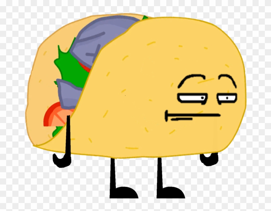 Bfdi Taco Pose 3 - Wiki Clipart (#272165) - PinClipart