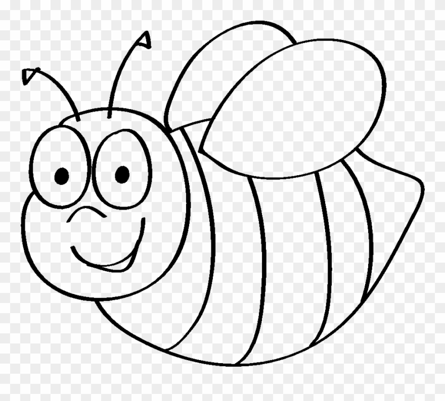 download bumble bee template printable clip art coloring