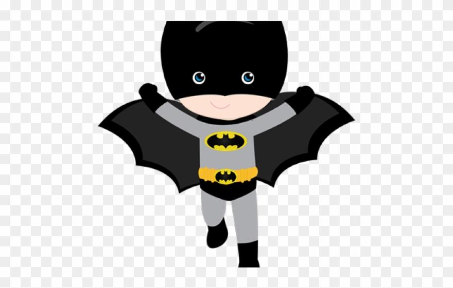 Batman Clipart Cute Baby Topo De Bolo Batman Para Imprimir Png