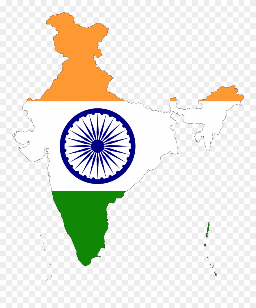 Big Image - Our National Flag India Clipart