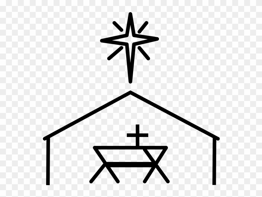 Christmas Empty Jesus Manger Vector Icon Stock Vector (Royalty Free)  524578018