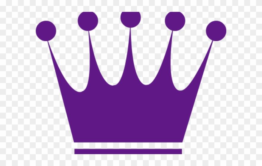 Purple crown. Royal clipart girly tiara