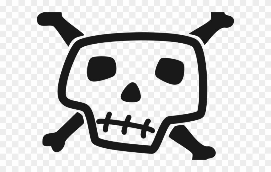 Danger Clipart Pirate Skull Cartoon Skull Pic Png Transparent Png