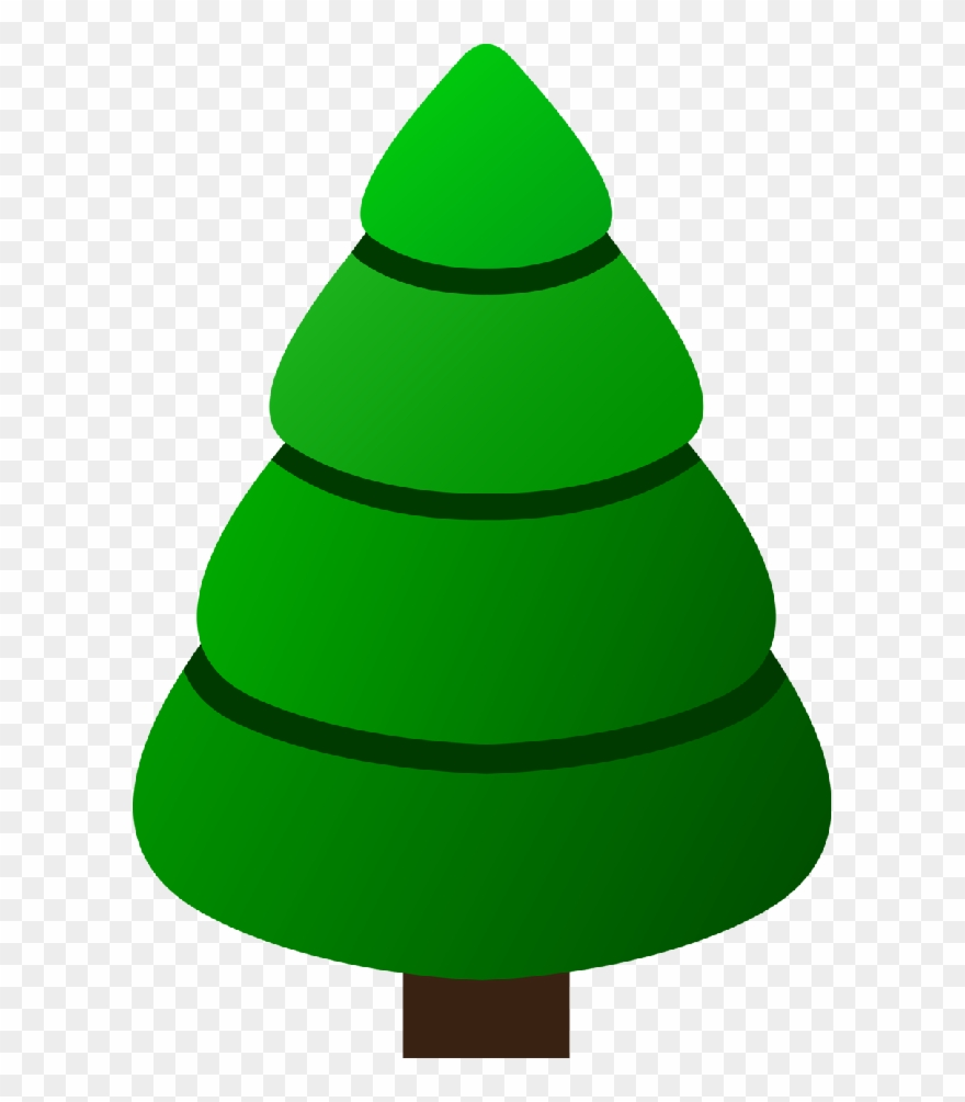 Christmas Tree Clip Art Christmas Tree Template Green Png