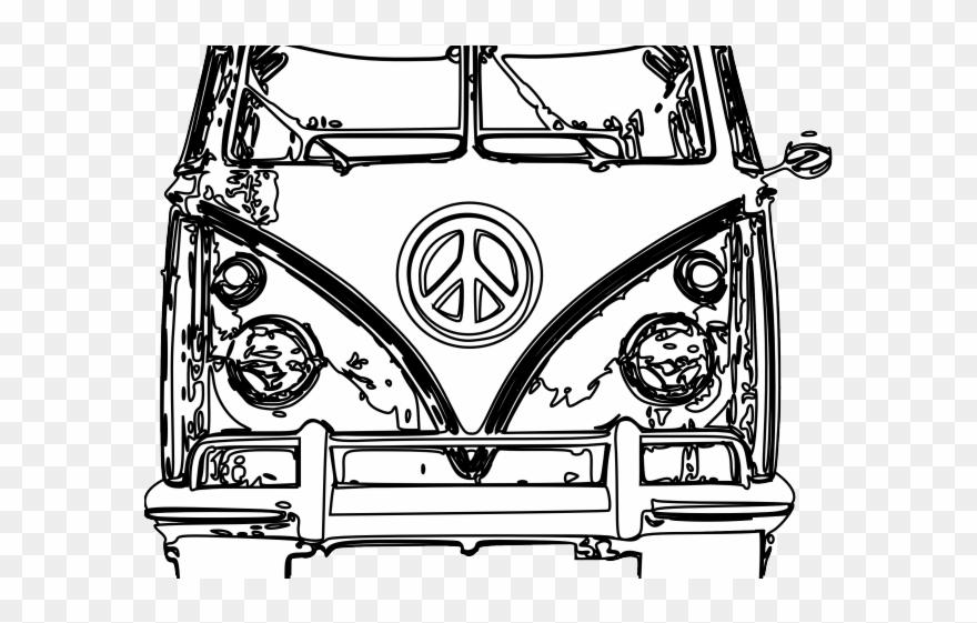 2c5092fe34c01 Hippie Clipart Vw Camper Van - Png Download (#2702606) - PinClipart