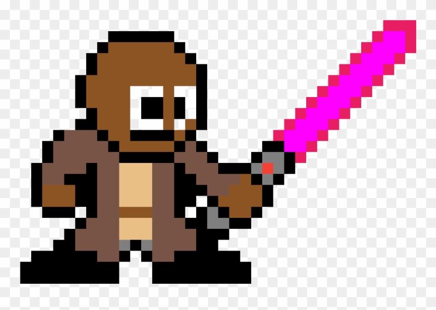 Pixel Art Luke Skywalker Png Download Clipart 2710002 Pinclipart