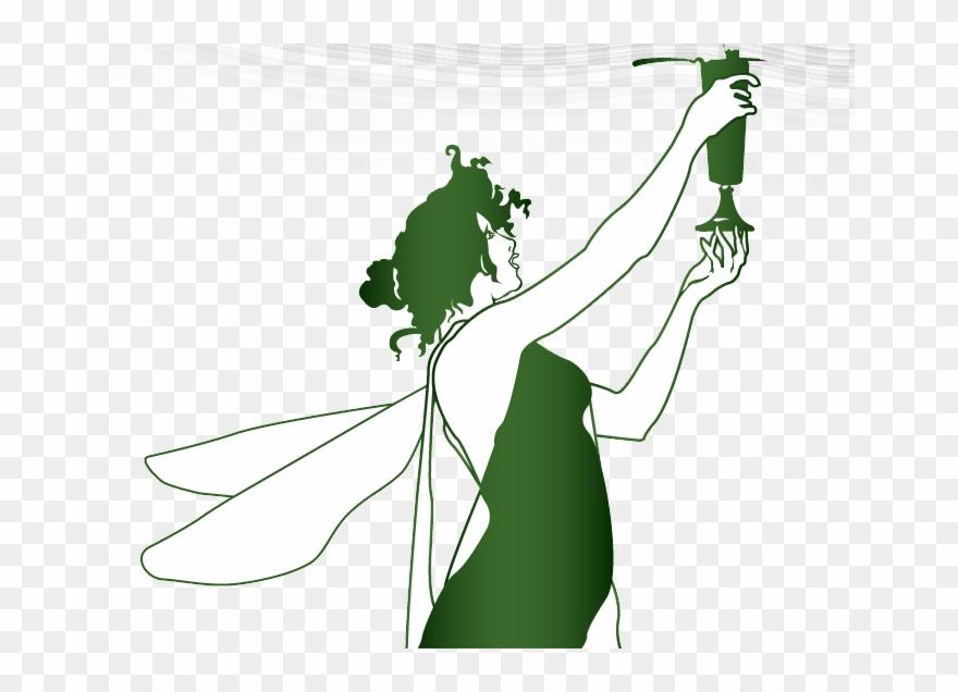 Green Absinthe Fairy Clipart 2725929 Pinclipart