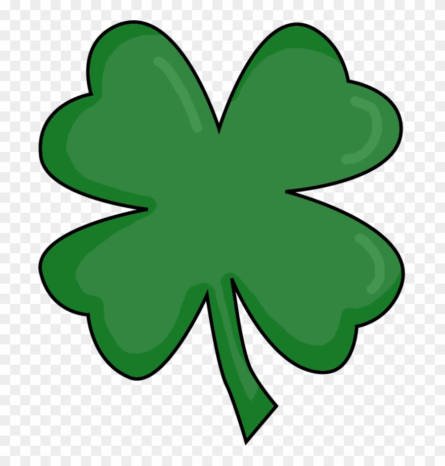 photo about 4 Leaf Clover Printable titled 4 Leaf Clover Printable Clipart (#2780616) - PinClipart