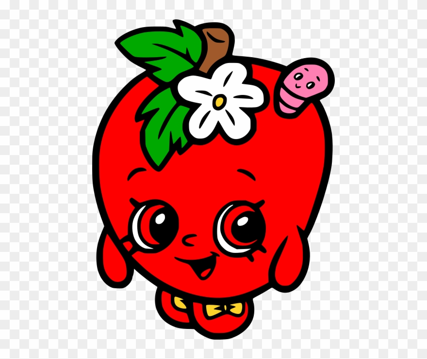 Shopkins Red Apple Blossom Clipart 2791374 Pinclipart