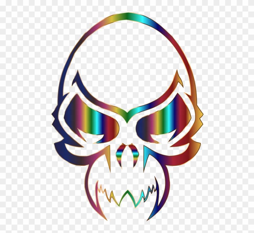 Tattoo Flash Drawing Skull Simple Tribal Skull Tattoo Designs