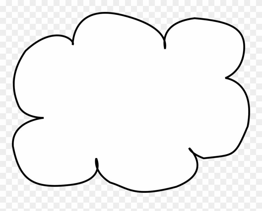 Visio Internet Cloud Nubes Para Pintar Png Clipart