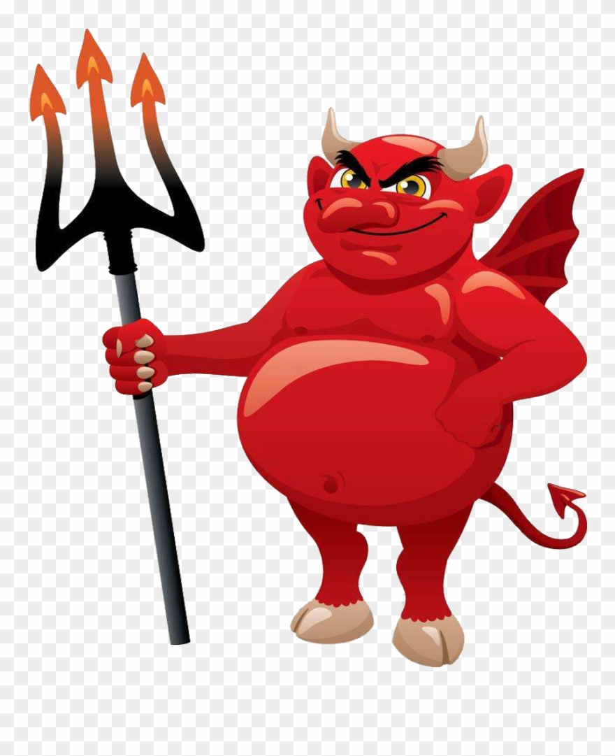 Devil satan cartoon clip art the proboscis devil cartoon no background png download