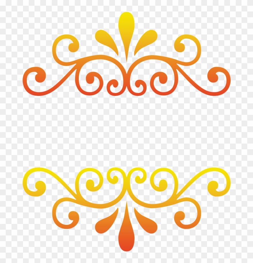 e43a40cdd18 Free Download Gold Floral Png Frame Vector Art- Gold Clipart ...