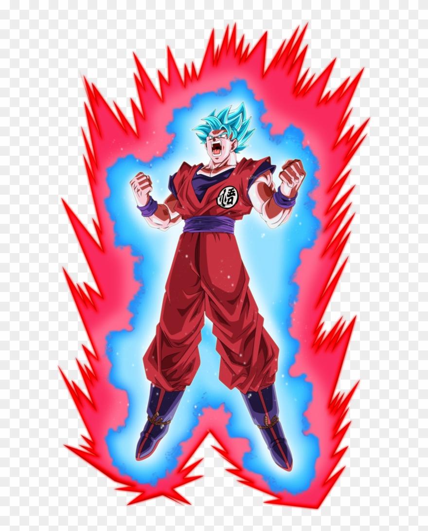 Goku Ssj Blue Kaioken 3 By Saodvd Db7k30m Clipart 2822877