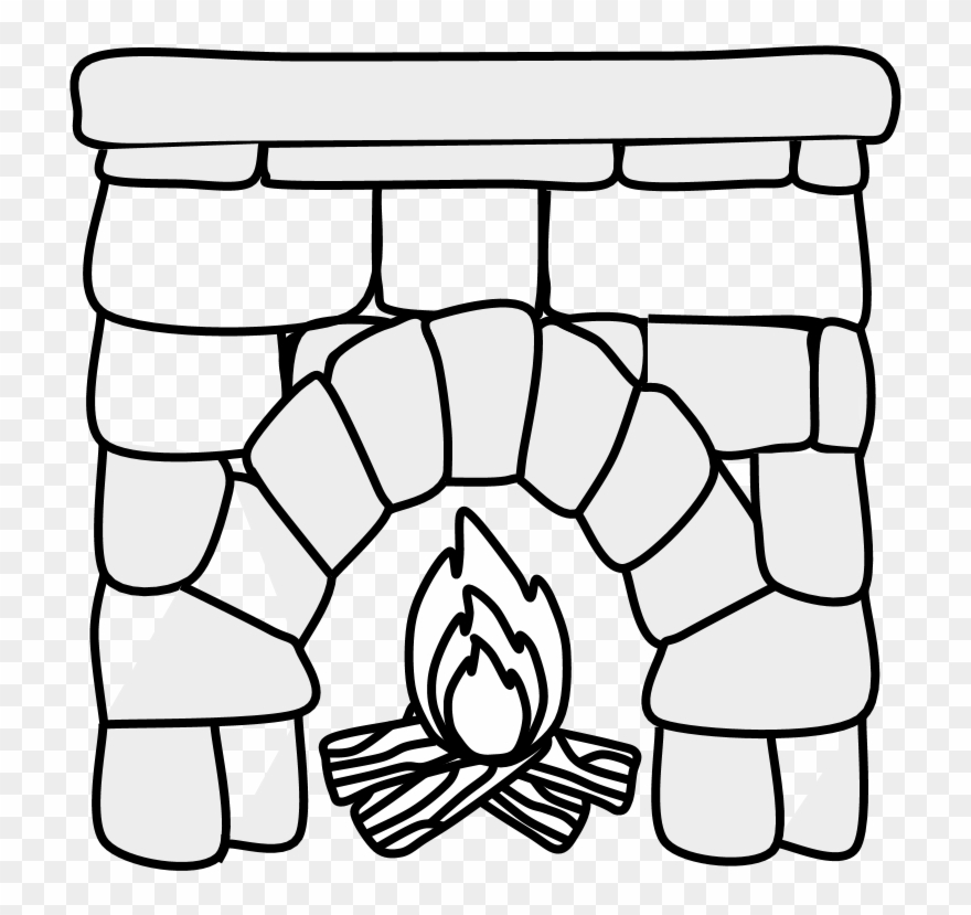 Groovy Fireplace Clipartshare Mantel Black Png Download 2826309 Home Interior And Landscaping Palasignezvosmurscom