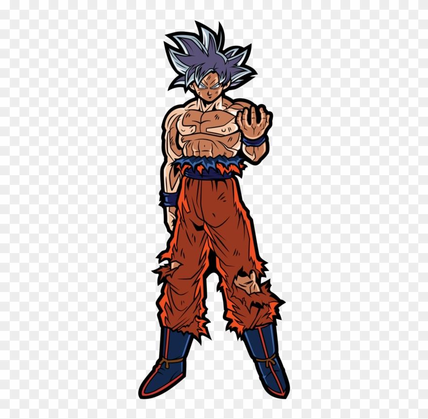 Ultra Instinct Goku Clipart 2827283 Pinclipart
