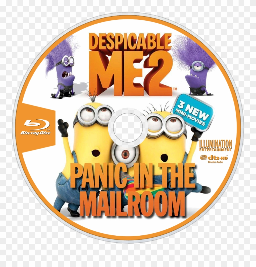 Panic In The Mailroom Bluray Disc Image Clipart (#2841426