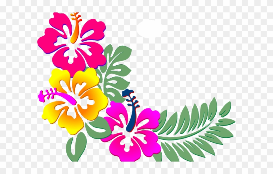 Flowers Color Clipart Bunga Png Download 2858163 Pinclipart