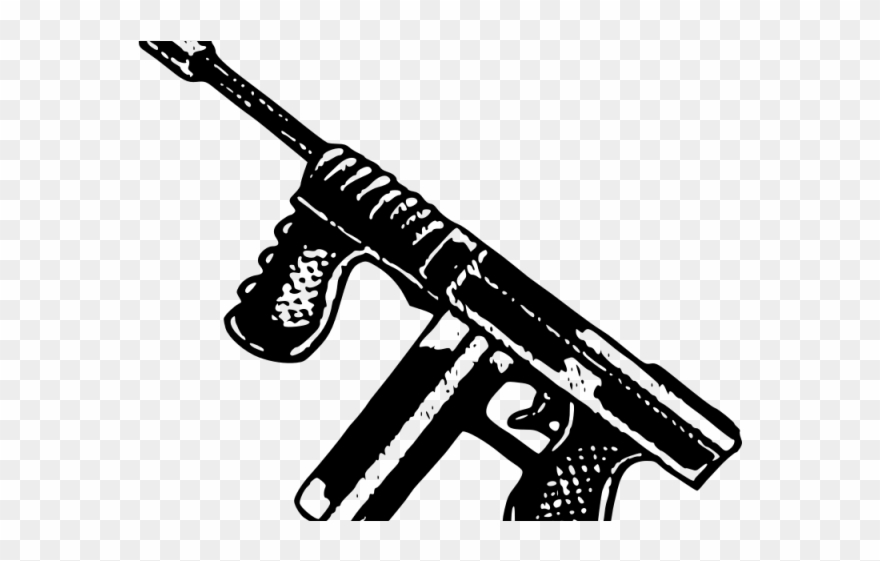 Gun Clipart Frame - Clipart Gun, HD Png Download - 640x480(#3031518) -  PngFind