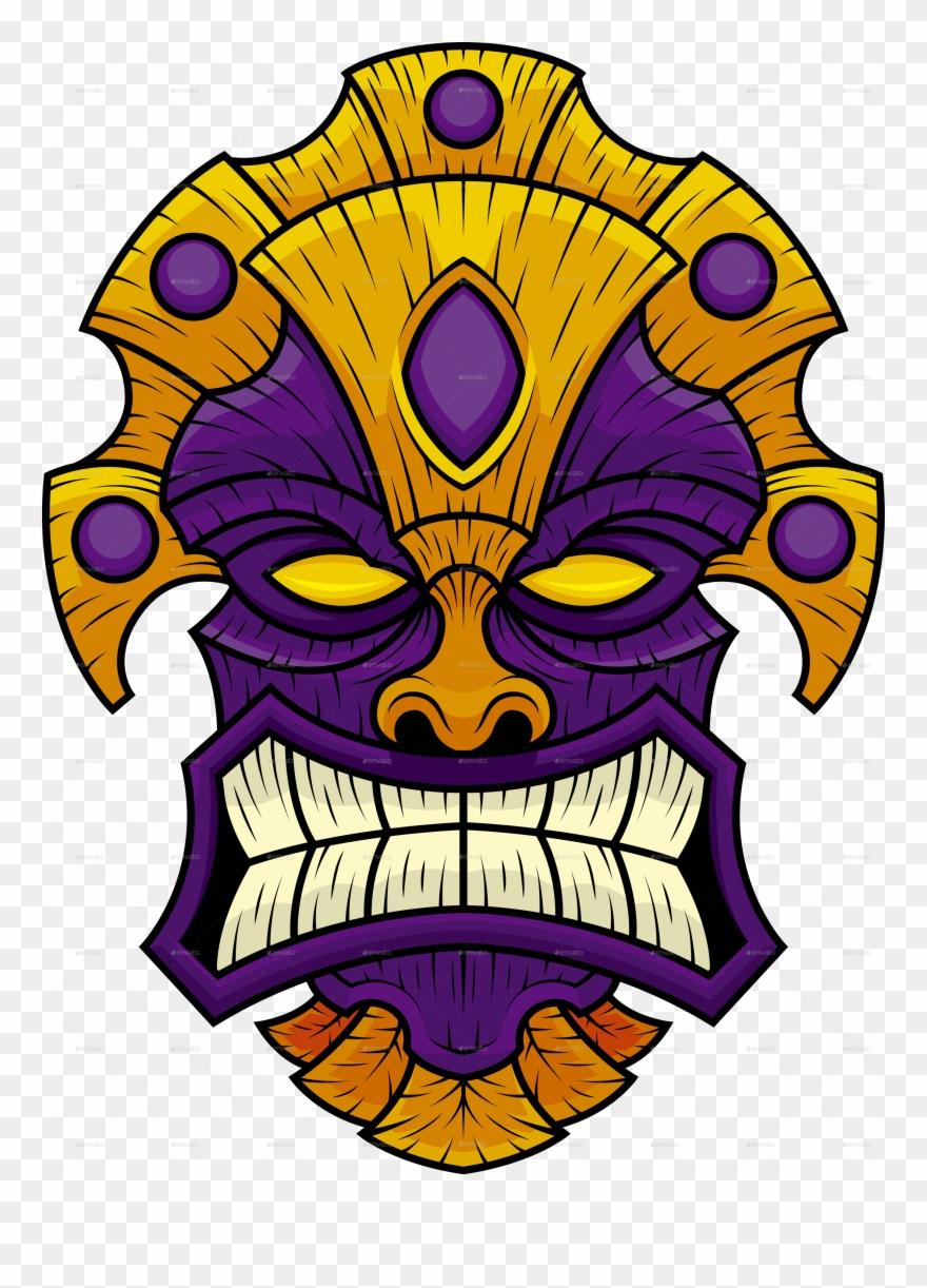 Tiki Mask 10 Tiki Mask 11 Clipart