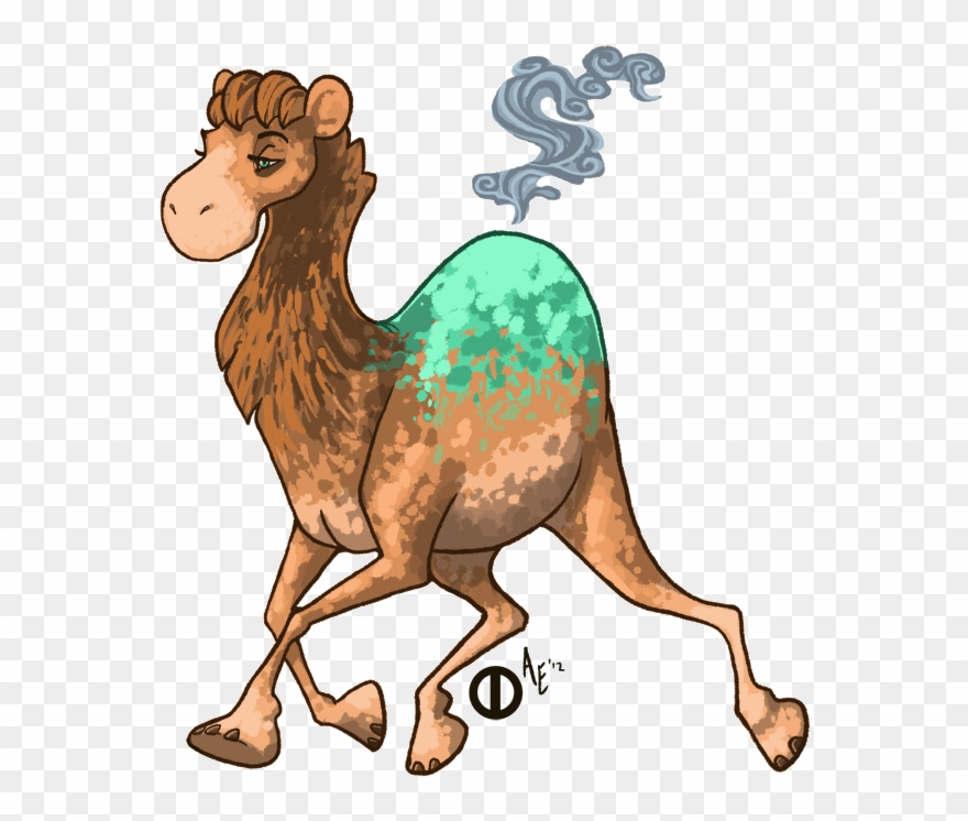 Drawing Camels Realistic - Realistic Numel Clipart (#298902
