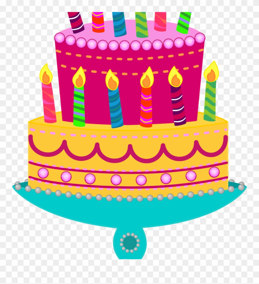 Awe Inspiring Birthday Cake Clip Art Pictures Clipartimple Free Animated Png Personalised Birthday Cards Veneteletsinfo