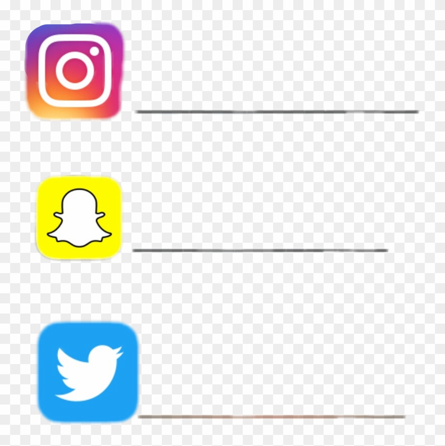 Instagram Clipart Snapchat - Png Download (#2942439
