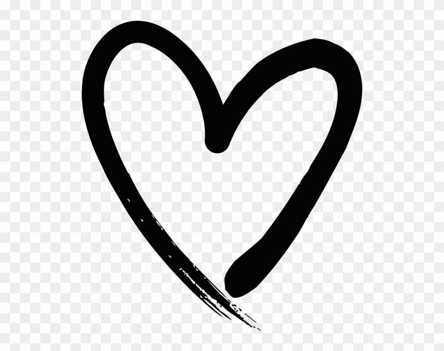 Hand Drawn Heart Clipart (#2951650) - PinClipart